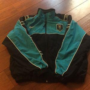 Reebok Aston villa FC jacket Sz L